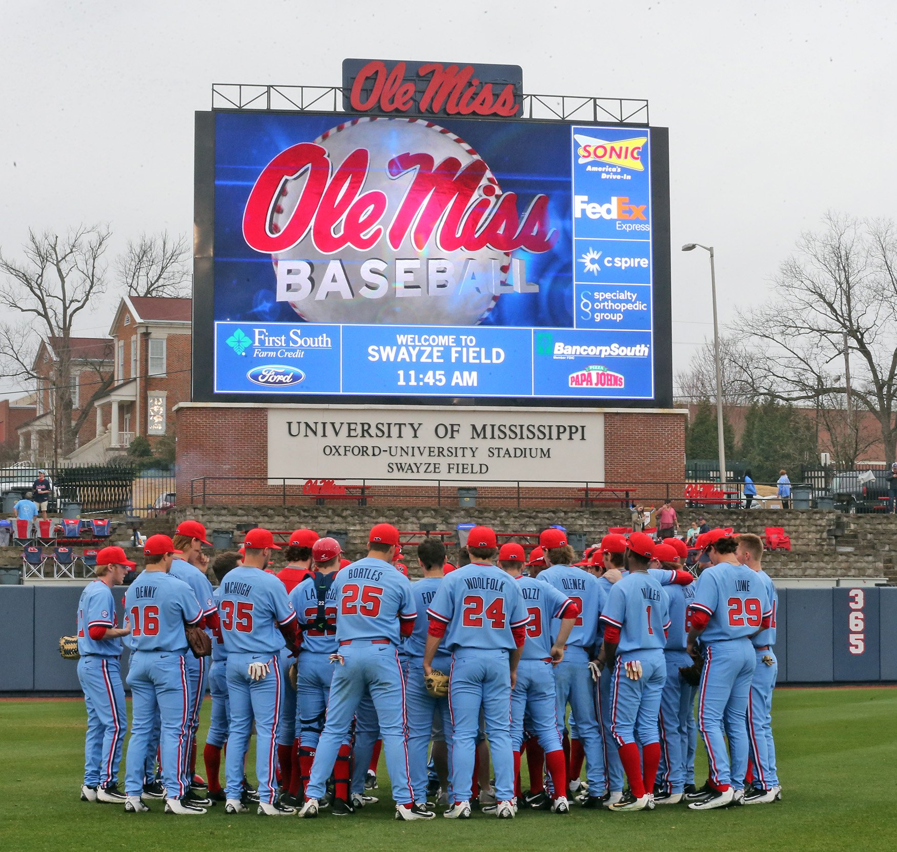 the latest 90f92 26aff Ole Miss Baseball and
